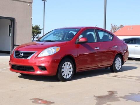 2013 Nissan Versa for sale at Bryans Car Corner in Chickasha OK