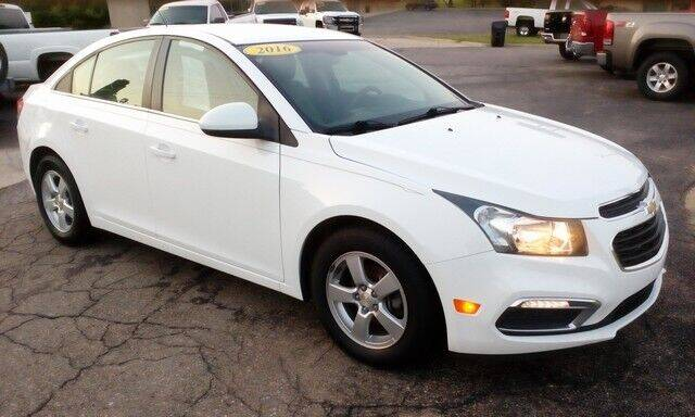 2016 Chevrolet Cruze Limited for sale at Jim Clark Auto World in Topeka KS
