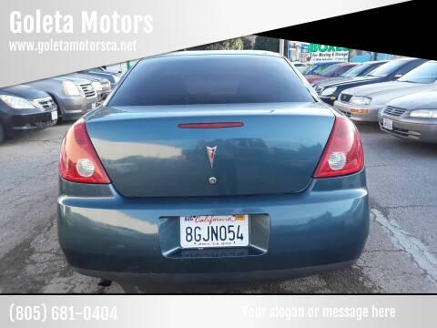 2005 Pontiac G6 for sale at Goleta Motors in Goleta CA