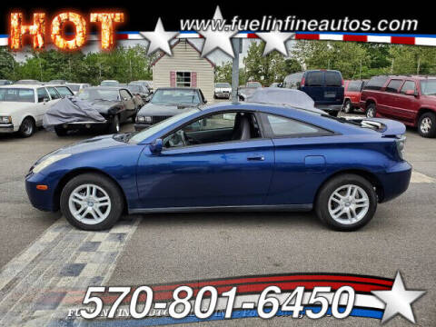 2002 Toyota Celica for sale at FUELIN FINE AUTO SALES INC in Saylorsburg PA