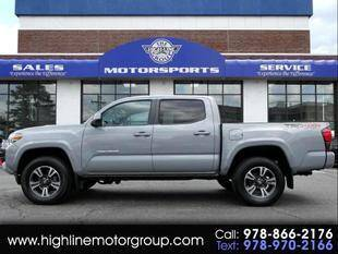 2018 Toyota Tacoma for sale at Highline Group Motorsports in Lowell MA