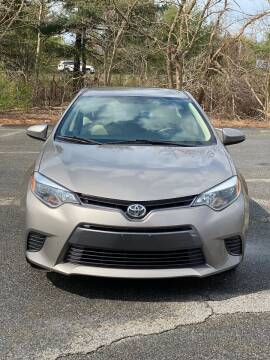 2016 Toyota Corolla for sale at Westford Auto Sales in Westford MA