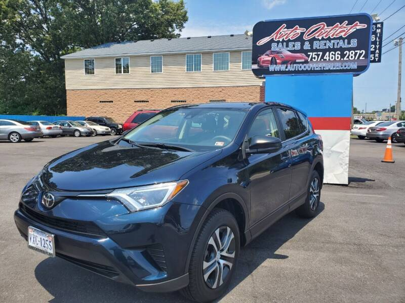 2017 Toyota RAV4 for sale at Auto Outlet Sales and Rentals in Norfolk VA