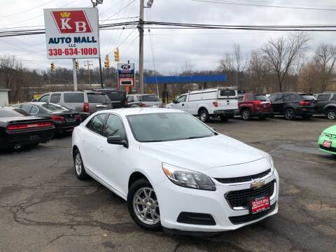 2014 Chevrolet Malibu for sale at KB Auto Mall LLC in Akron OH