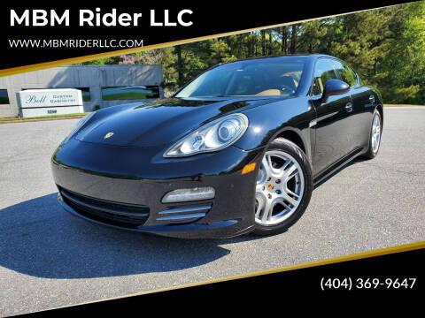2011 Porsche Panamera for sale at MBM Rider LLC in Alpharetta GA