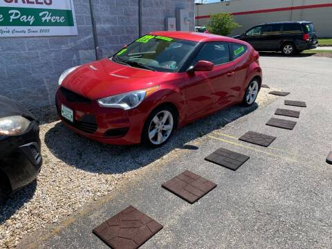 2013 Hyundai Veloster for sale at McNamara Auto Sales - Kenneth Road Lot in York PA