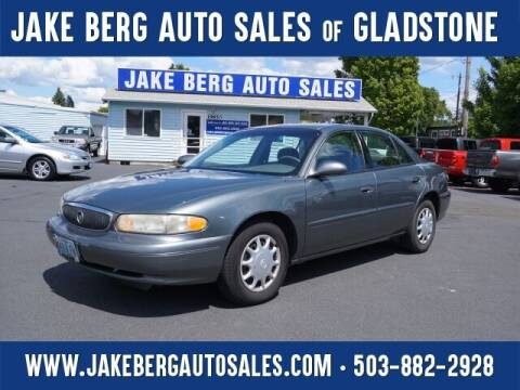 2005 Buick Century for sale at Jake Berg Auto Sales in Gladstone OR