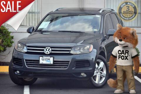 2012 Volkswagen Touareg for sale at JDM Auto in Fredericksburg VA