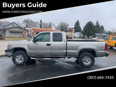 2003 Chevrolet Silverado 2500HD for sale at Buyers Guide in Buffalo WY