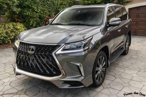 2020 Lexus LX 570 for sale at Premier Auto Group of South Florida in Wellington FL