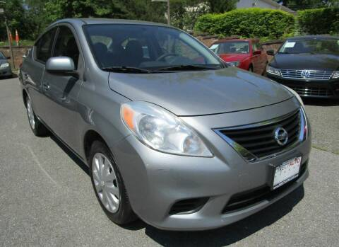 2014 Nissan Versa for sale at Direct Auto Access in Germantown MD