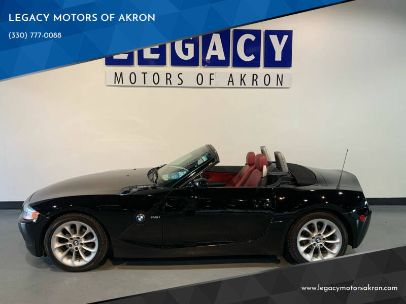 2004 BMW Z4 for sale at LEGACY MOTORS OF AKRON in Akron OH