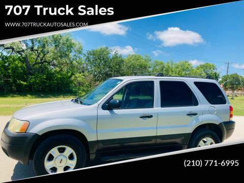 2004 Ford Escape for sale at 707 Truck Sales in San Antonio TX