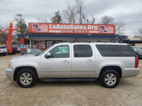 2014 GMC Yukon XL for sale at LA Auto Sales in Monroe LA