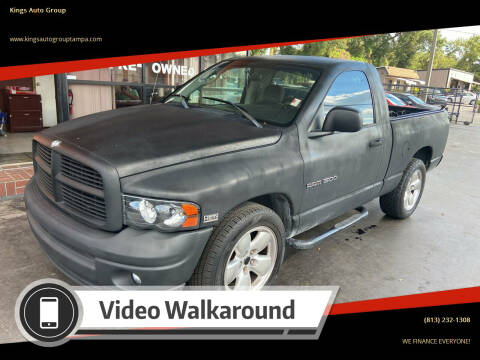 2003 Dodge Ram Pickup 1500 for sale at Kings Auto Group in Tampa FL