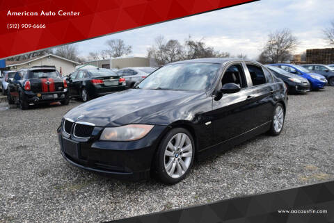2007 BMW 3 Series for sale at American Auto Center in Austin TX