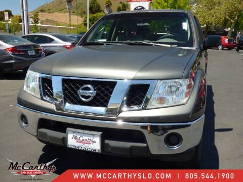 2009 Nissan Frontier for sale at McCarthy Wholesale in San Luis Obispo CA