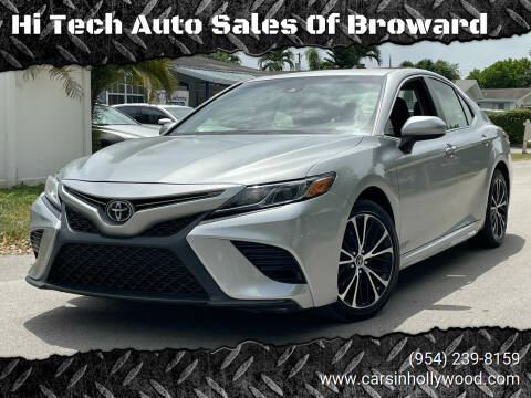 2018 Toyota Camry for sale at Hi Tech Auto Sales Of Broward in Hollywood FL