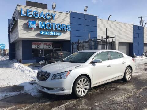 2015 Buick LaCrosse for sale at Legacy Motors in Detroit MI