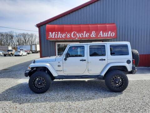 2012 Jeep Wrangler Unlimited for sale at MIKE'S CYCLE & AUTO in Connersville IN