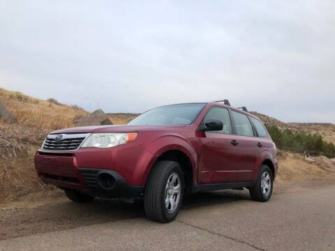 2010 Subaru Forester for sale at Automotive Evolution in Golden CO