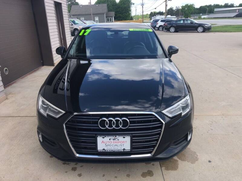 2017 Audi A3 for sale at Auto Import Specialist LLC in South Bend IN