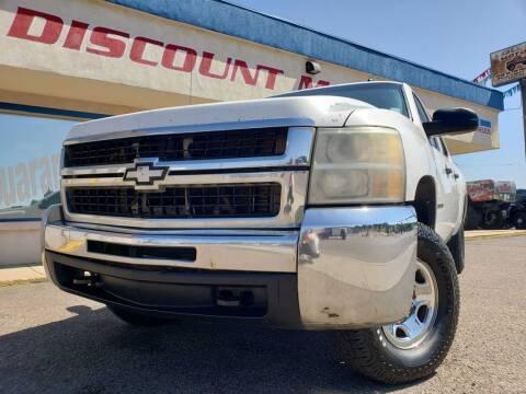 2009 Chevrolet Silverado 2500HD for sale at Discount Motors in Pueblo CO