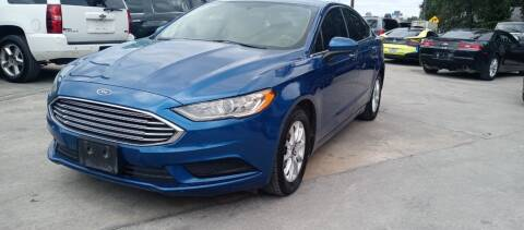 2018 Ford Fusion for sale at AUTOTEX FINANCIAL in San Antonio TX