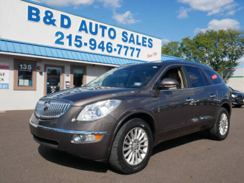 2011 Buick Enclave for sale at B & D Auto Sales Inc. in Fairless Hills PA