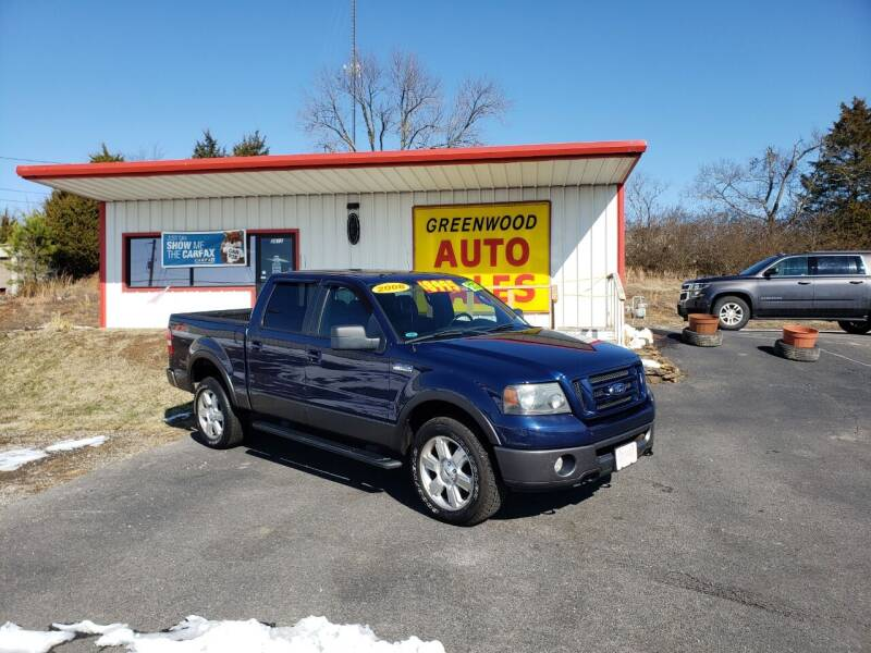 2008 Ford F-150 for sale at Greenwood Auto Sales in Greenwood AR