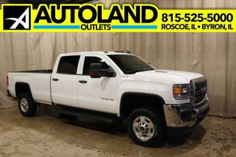 2016 GMC Sierra 2500HD for sale at AutoLand Outlets Inc in Roscoe IL