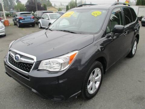 2014 Subaru Forester for sale at GMA Of Everett in Everett WA