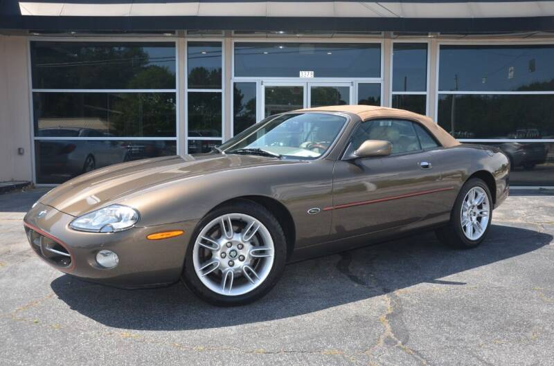 2001 Jaguar XK-Series for sale at Amyn Motors Inc. in Tucker GA
