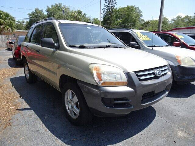 2008 Kia Sportage for sale at DONNY MILLS AUTO SALES in Largo FL