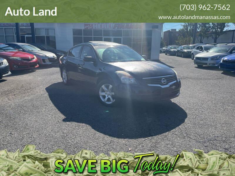 2008 Nissan Altima for sale at Auto Land in Manassas VA
