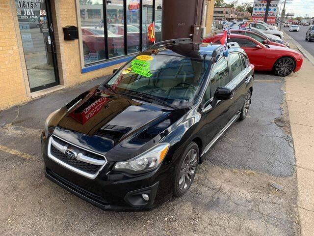 2012 Subaru Impreza for sale at JBA Auto Sales Inc in Stone Park IL