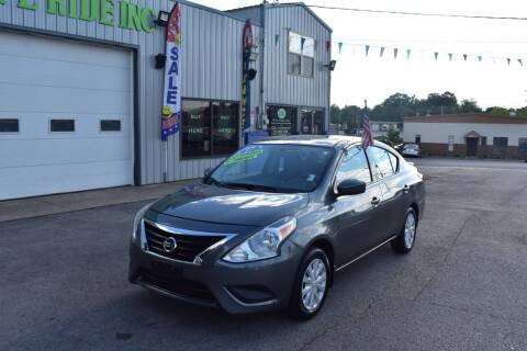 2017 Nissan Versa for sale at Rite Ride Inc 2 in Shelbyville TN