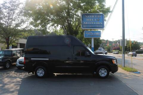 2012 Nissan NV Cargo for sale at North Hills Motors in Raleigh NC