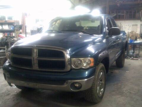 2005 Dodge Ram Pickup 1500 for sale at WEINLE MOTORSPORTS in Cleves OH