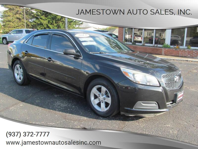 2013 Chevrolet Malibu for sale at Jamestown Auto Sales, Inc. in Xenia OH