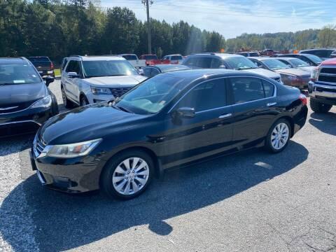 2014 Honda Accord for sale at Billy Ballew Motorsports in Dawsonville GA