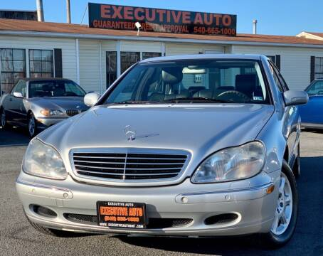 2000 Mercedes-Benz S-Class for sale at Executive Auto in Winchester VA