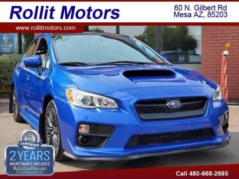 2015 Subaru WRX for sale at Rollit Motors in Mesa AZ