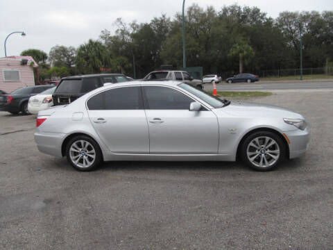 2009 BMW 5 Series for sale at Orlando Auto Motors INC in Orlando FL