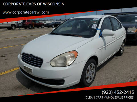 2006 Hyundai Accent for sale at CORPORATE CARS OF WISCONSIN - DAVES AUTO SALES OF SHEBOYGAN in Sheboygan WI