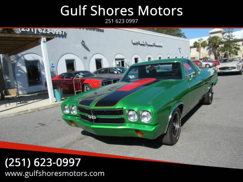 1970 Chevrolet El Camino for sale at Gulf Shores Motors in Gulf Shores AL