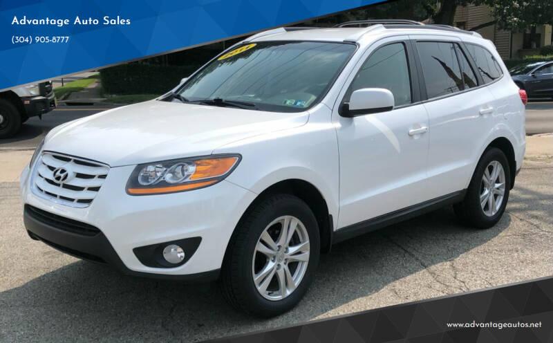 2011 Hyundai Santa Fe for sale at Advantage Auto Sales in Wheeling WV