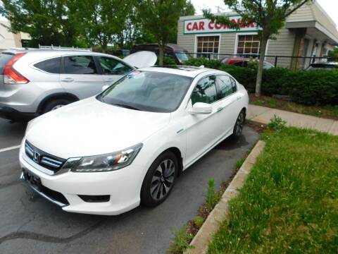 2014 Honda Accord Hybrid for sale at CAR CORNER RETAIL SALES in Manchester CT