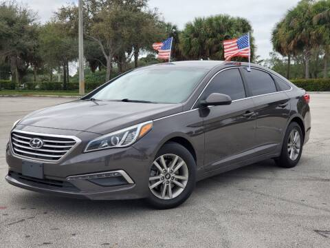 2015 Hyundai Sonata for sale at Winners Autosport in Pompano Beach FL