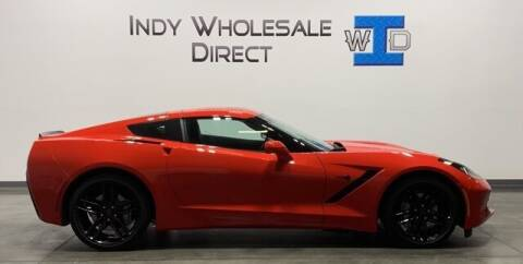 2018 Chevrolet Corvette for sale at Indy Wholesale Direct in Carmel IN